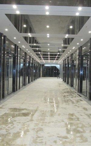 اجرای سقفهای stretch ceiling   و سقفهای کناف و نازک کاری پروژه پاساژ پارک خرید قدس